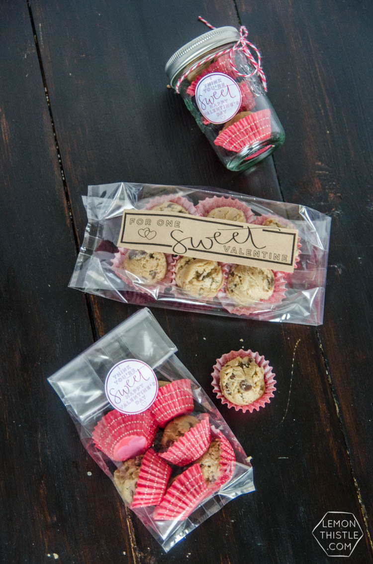 DIY 'Sweet' Valentines Gifts- with four free printable labels