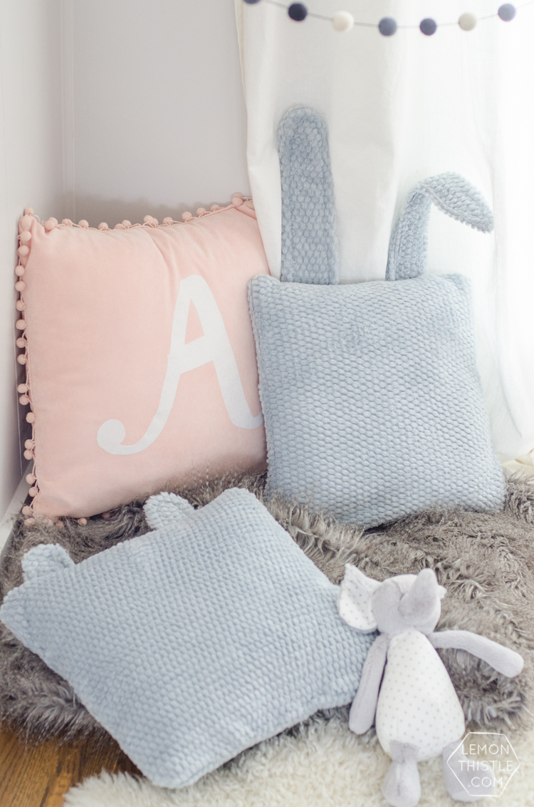 DIY Animal Ear Pillows- adorbs!