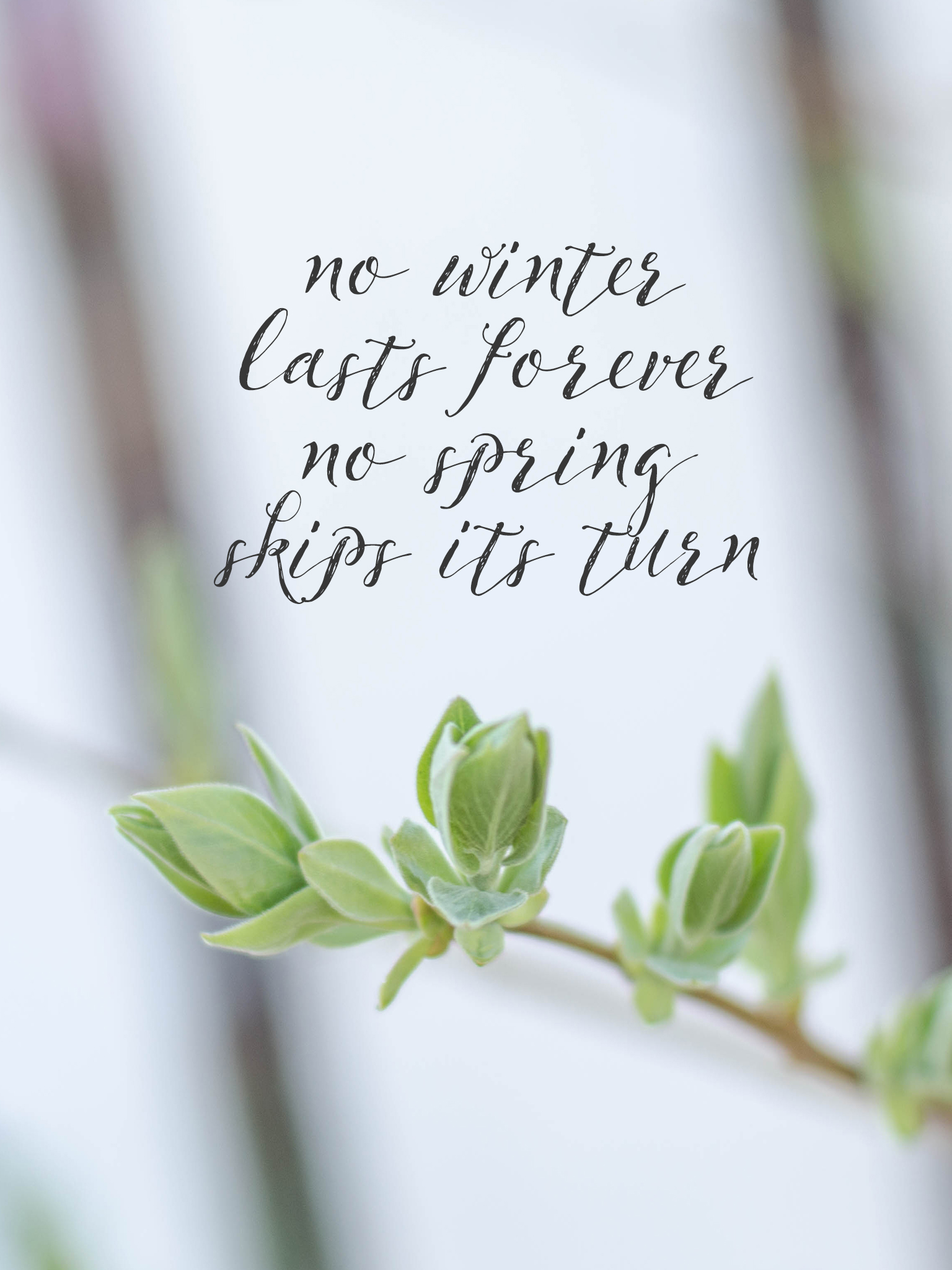 April Calendar Wallpaper : No winter lasts forever spring wallpapers are here