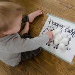 Free Printable: Easter Lamb Activity