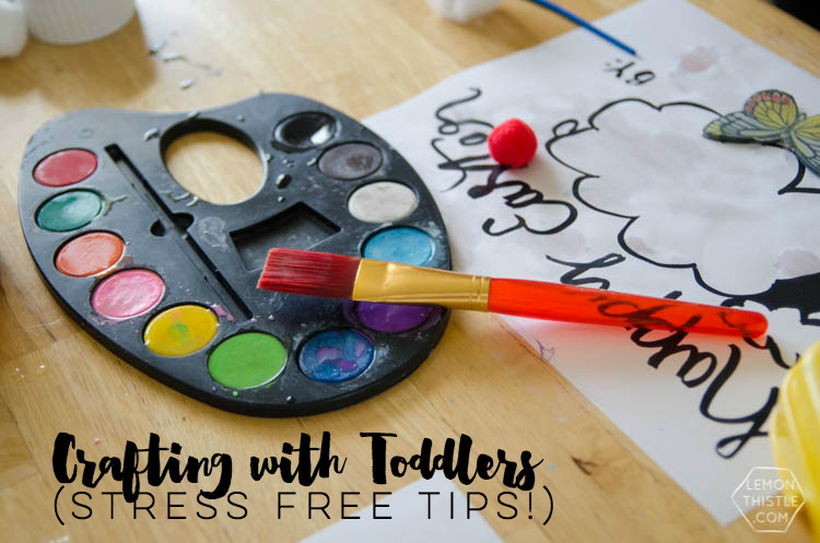 Free Printable Easter Lamb Activity Sheet and Tips for Crafting with Toddlers... stress free! I so need those tips!