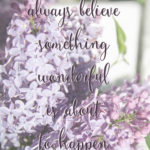 Something Wonderful is About to Happen- May Freebies