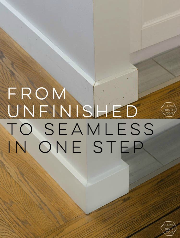 Simple tips for caulking for a finished look in one step