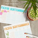 Fiesta! Baby Shower Scattergories 2.0