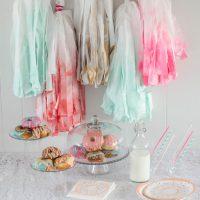 DIY Giant Party Tassels