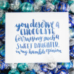 Sweet Printables for Father's Day