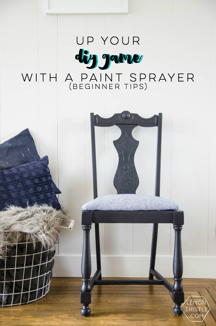 Beginner tips for using a paint sprayer