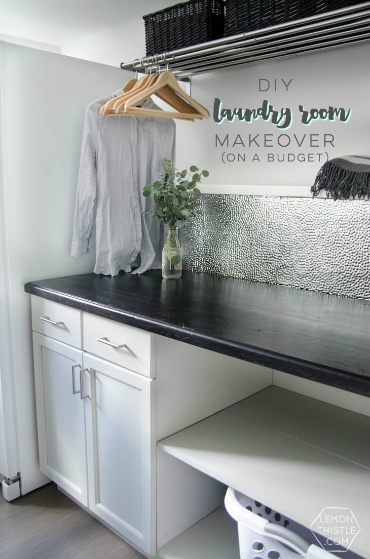 A Laundry Room Makeover Top To Bottom