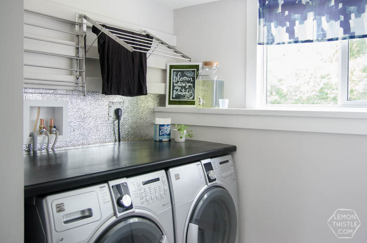 a laundry room makeover (top to bottom!) - lemon thistle