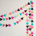 That Simple Triangle Garland