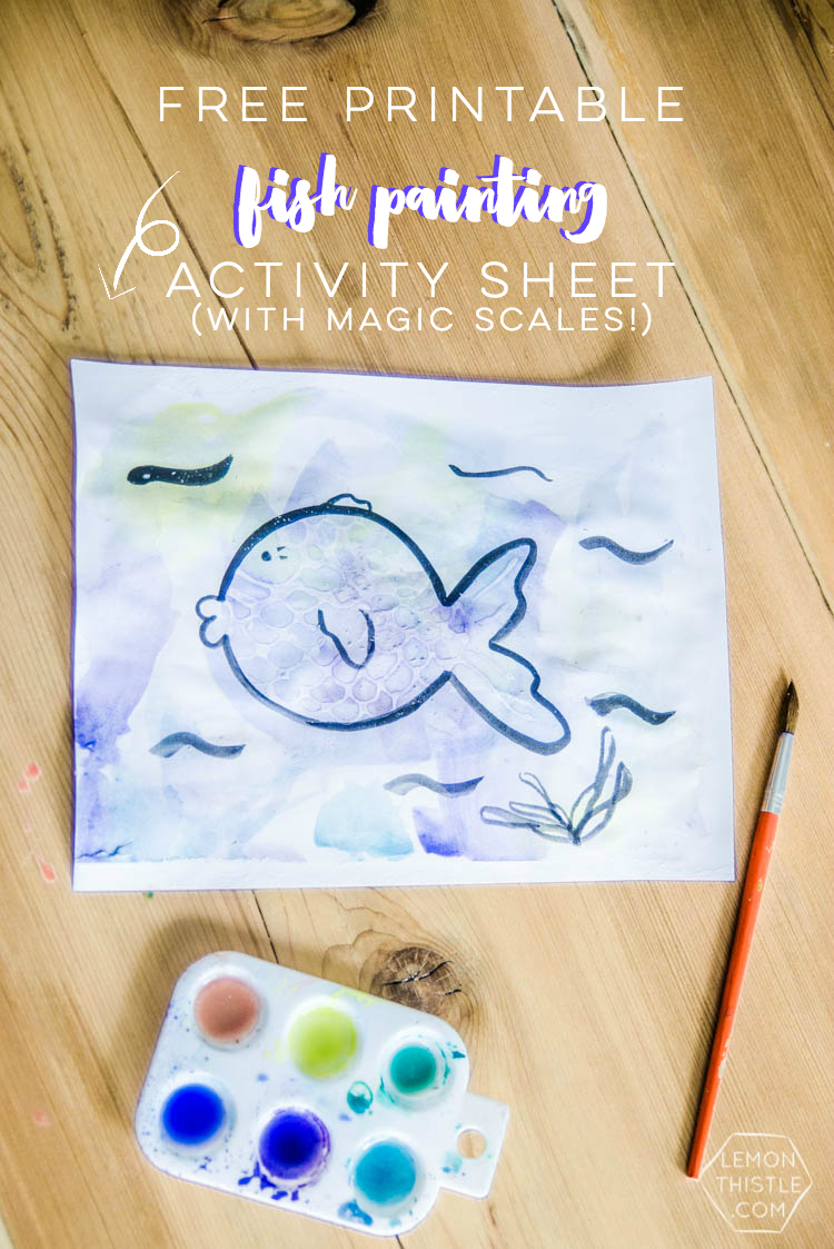 Such a cool idea! Magic scales- my kids would love this! Plus, free printable activity sheet
