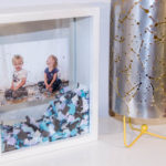 DIY Confetti Filled Shadow Box