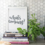 What's Cooking? Hand Lettered Free Printable