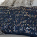DIY: No Sew Metallic Foil Pillow