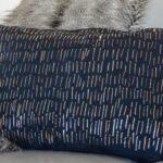 DIY: No Sew Metallic Foil Pillow