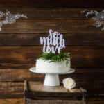 DIY Wedding Cake Topper 'So Much Love'