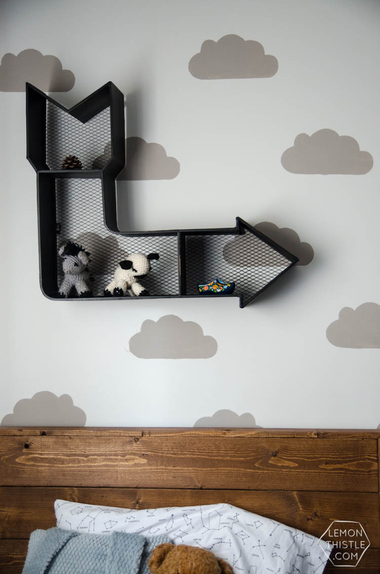 DIY painted wall stencils 2 ways. I always wondered what else you could use other than stencil material!