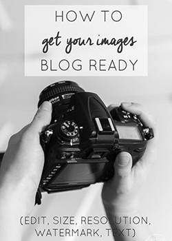 how to get images blog ready in a flash