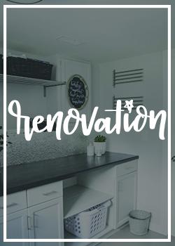 Renovation DIY
