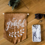 Grateful DIY Leather Pennant