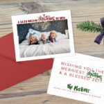Holiday Card Design- a free download!