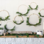 Simple DIY Holiday Wreath with Fresh Greens (and an announcement!)