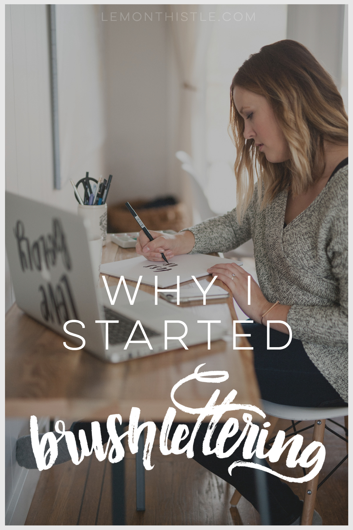 I love this! Awesome story on progress. I want to learn brush lettering too.