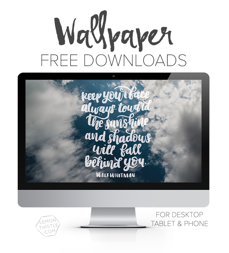 Keep Your Face Towards The Sun February Tech Wallpapers