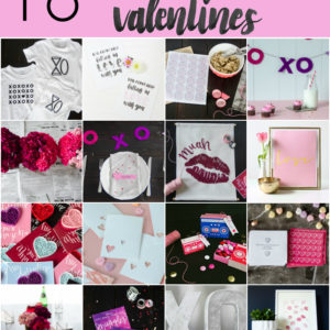 16 rad decorations and printables for valentines day