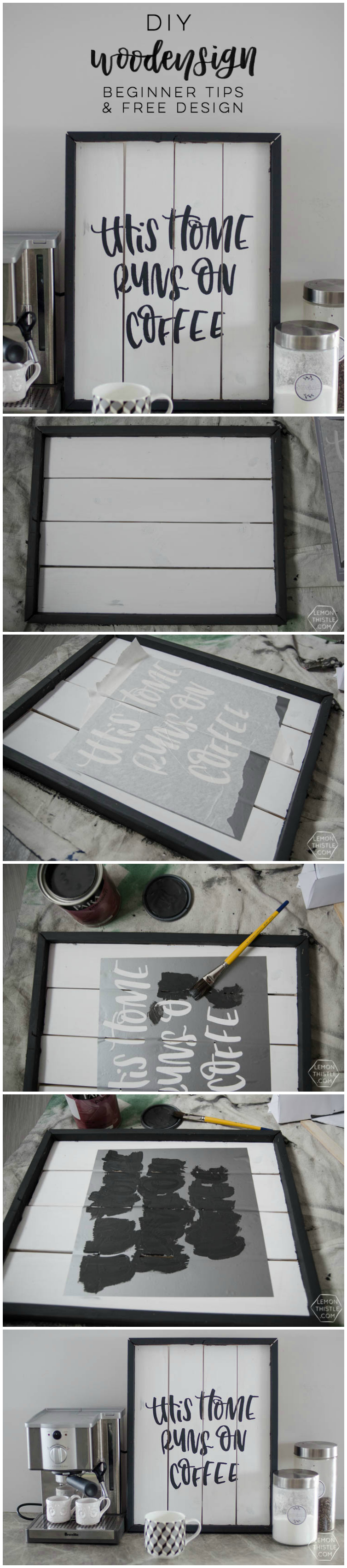 Tips for beginner wooden signs and a free design- these are such good tips!