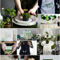 12 rad ideas for saint patrick's day- I love these! Party, home decor and printables- perfect!