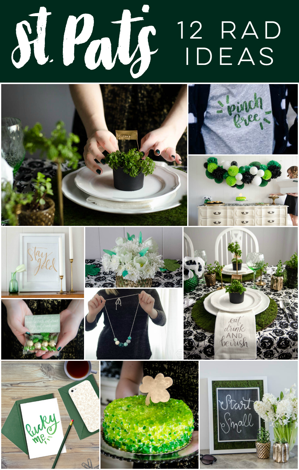 12 Rad Ideas For Saint Patricks Day Lemon Thistle
