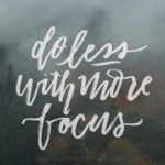 Do Less With More Focus: March Tech Wallpapers