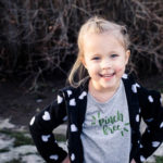 DIY Saint Patrick's Day TShirt with hand lettered 'pinch free' design