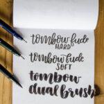 The 4 Best Brush Pens [I Love!] for Brush Lettering