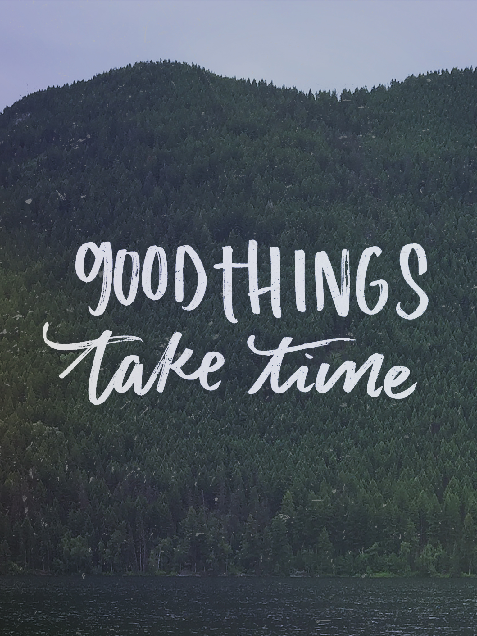 Good Things Take Time April Tech Wallpapers Lemon Thistle