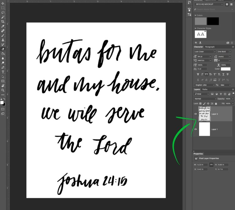 How to digitize lettering to cut with a cricut