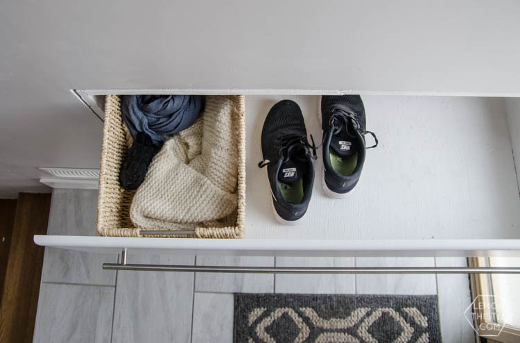 What A Great Storage Solution For A Split Level Entry Home! DIY Built In  Shoe