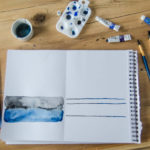 2 Watercolor Paintings in 20 Minutes (no skills required!)