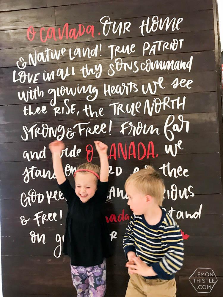 Canada 150 Art Installation
