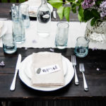 Lilacs & Linen Spring Outdoor Tablescape