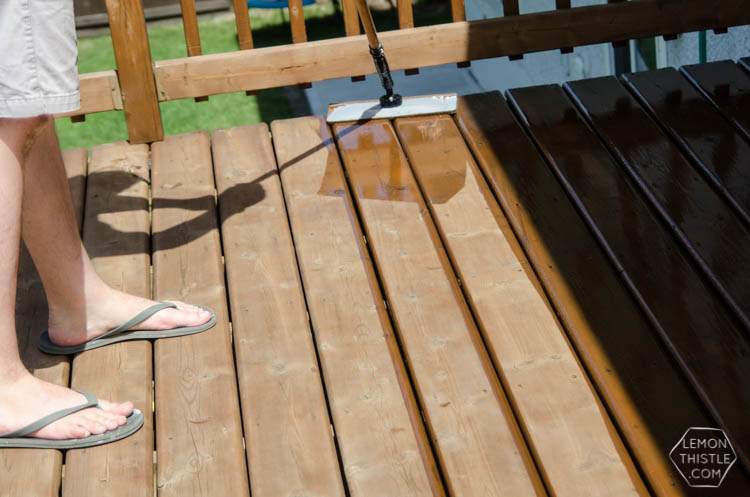Tips on wooden deck faterials and finishing (and refinishing!)