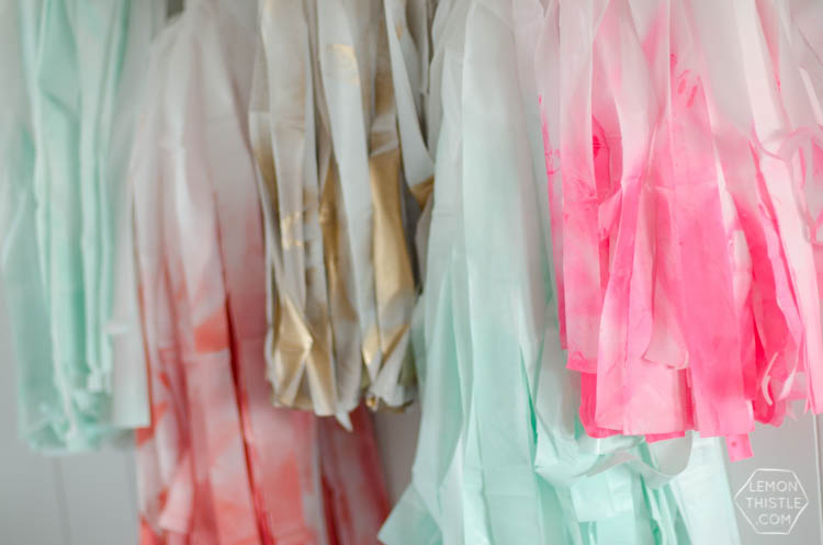 DIY Giant Party Tassels