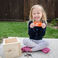 What a great idea for Father's Day! A Gift Card Crate- this would be too fun to watch them break into.