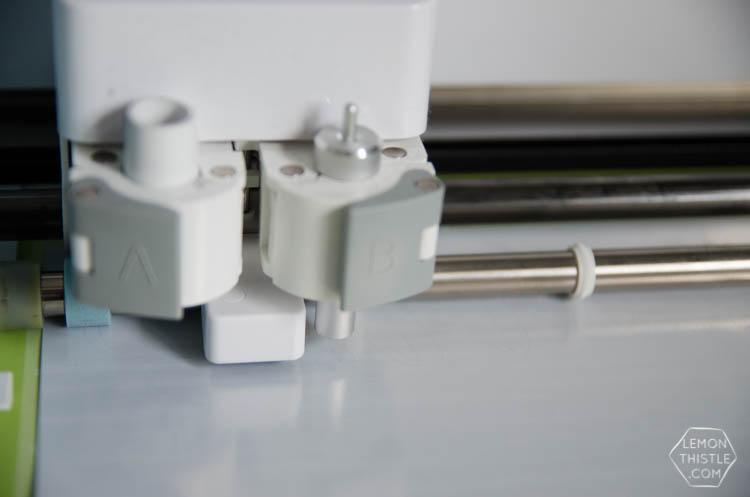 Tips for using iron transfer vinyl on wood - Lemon Thistle