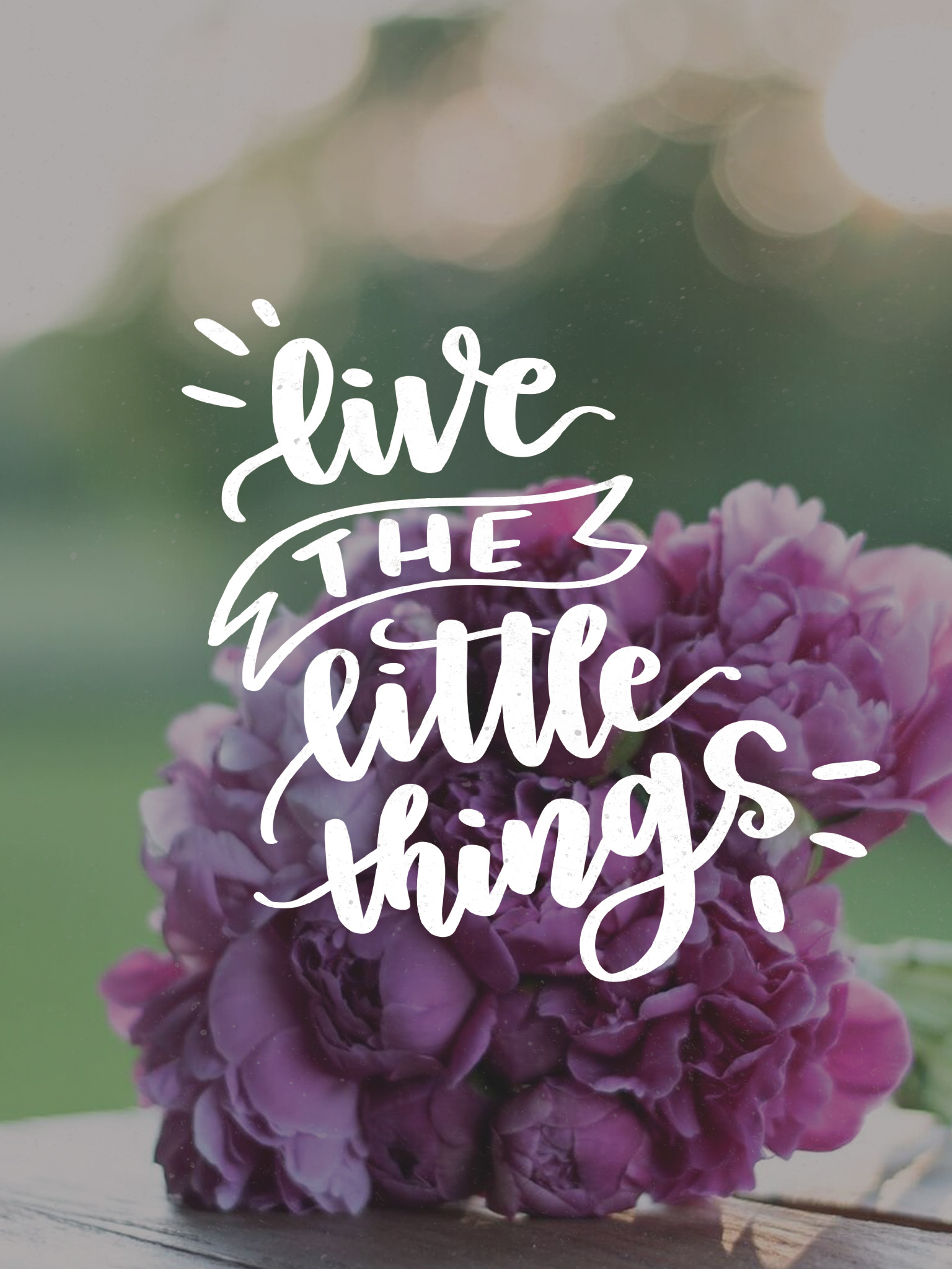 live the little things - july tech wallpapers