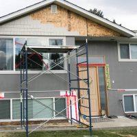 DIY Exterior renovation progress & hardie board and batten installation tips