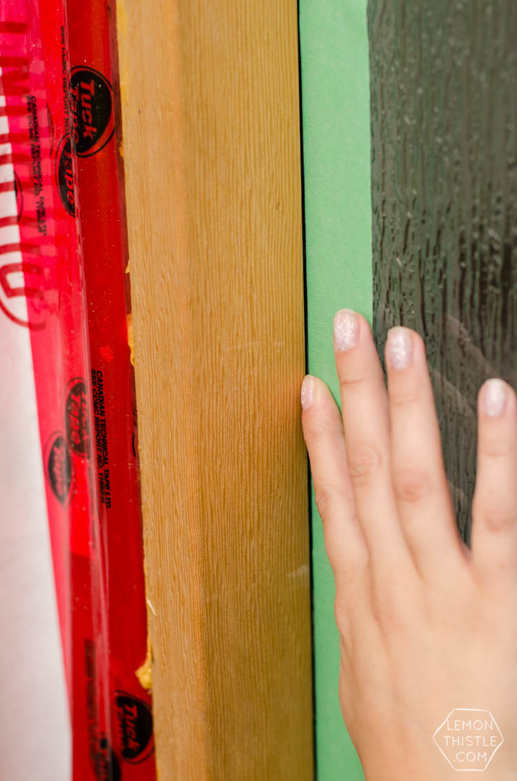 front door update painting and tape tips for an easy job