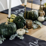 Chalkboard Autumn Tablescape (Friendsgiving!)