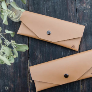 DIY Leather Pouch- cut with a Cricut! Tips for working with leather and cricut... and should you bother buying the Cricut Maker?